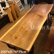 AA009 原木松木桌板