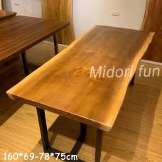 AA068 原木松木桌板