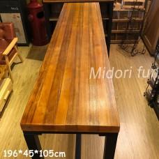 AB025 直拼松木高腳桌