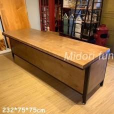 AB032 直拼松木櫃台桌