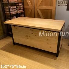 AB049 直拼松木餐桌