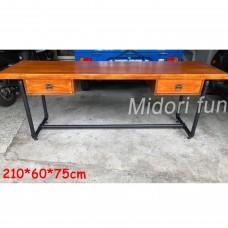 AE004 直拼榆木桌