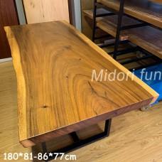 AK026 原木胡桃木桌
