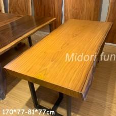 AM017 原木柚木桌板