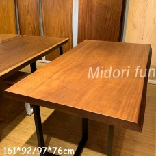 AM023 原木非洲黃金柚桌