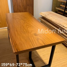 AM025 原木非洲柚木桌板