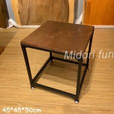 X0007 實木小方桌